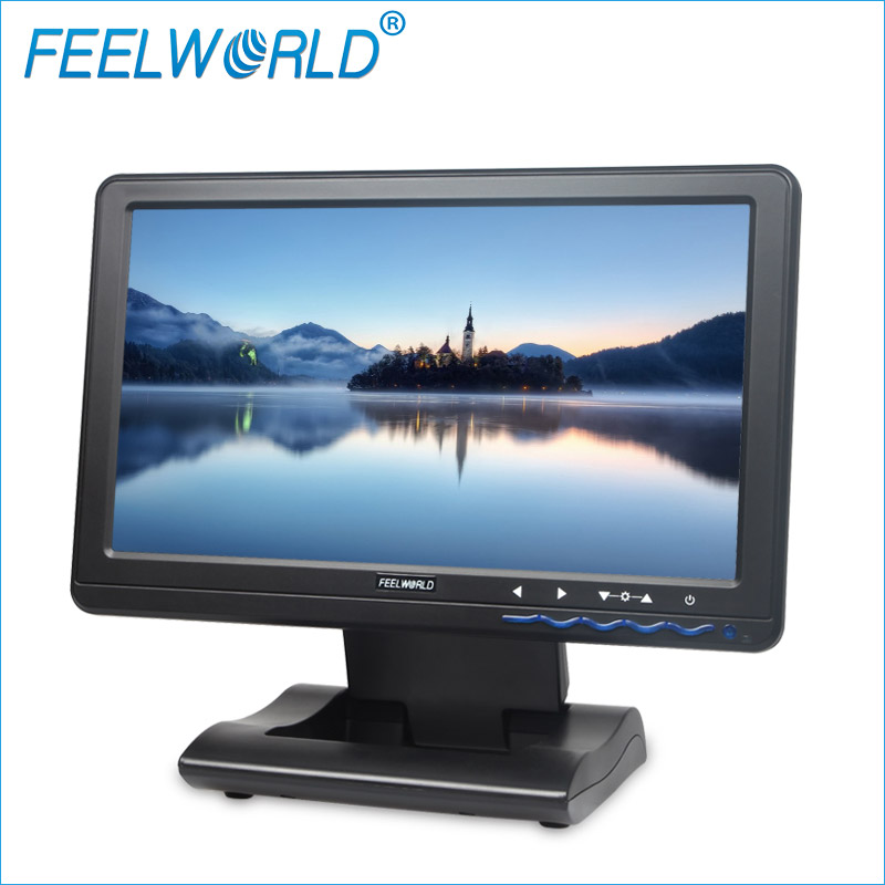 DP101T Feelworld 10.1 Inç IPS 1024x600 LCD Dokunmatik Ekran USB Powered Monitör 10.1 LCD USB Dokunmatik Monitörler
